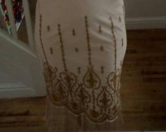 great gatsby dress, flapper, charleston, 1920s, the great gatsby party, wedding, ladies, size uk 16, us 12, aus 16, eu 44