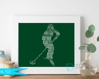 Ringette Coach Gift, Ringette Gifts, Ringette Coach Thank You Gift, Coach Retirement, Ringette Player Gift, Personalized Ringette Gift