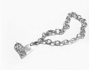 """Spoon Charm Bracelet: """"Charlotte"""" by Silver Spoon Jewelry"""