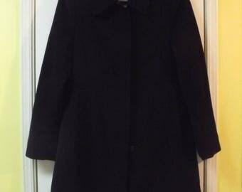 Classic Calvin Klein Black Coat