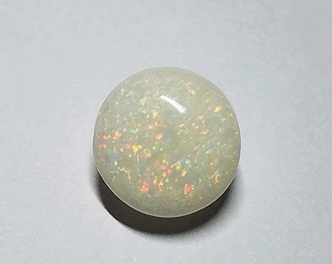 UPRISING SALE! Fantastic Solid White Opal Gem Cabochon from Coober Pedy, Australia 7.51 cts.