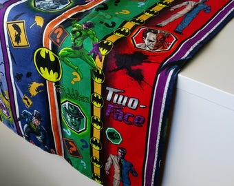 DC Comics Table Runner/ Placemats / House Decor/ Table Decor/ Table runners/ Placemats