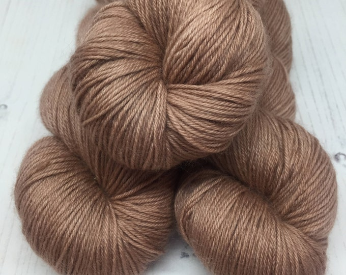 Box of Caramels  - 75/25% Merino and Nylon 4 ply wool 100grams