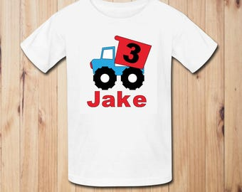 Truck Birthday Party Shirt