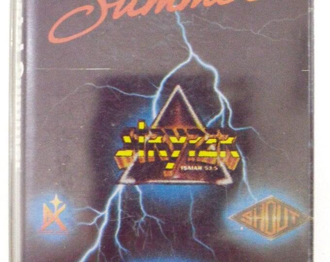 Vintage 80 Hot Metal Summer Christian Rock Album Cassette Tape