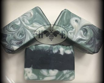 Clarity *** Luxury Artisan Soap *** Activated Charcoal & Tea Tree Oil Facial Bar