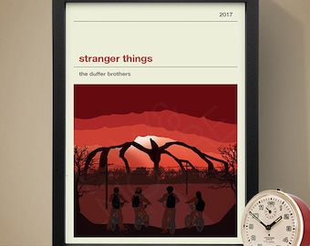 Stranger Things Season 2 Poster, TV Print, Print, Poster