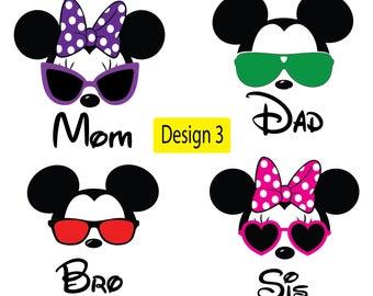 Disney Family shirts, Family shirts, Personalized Disney Shirts, Disney