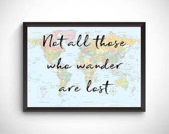 Travel prints, travel home decor, travel printables, travel quote prints, gift for traveler, travel lover, wanderlust, travel wall art