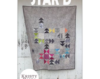 Star'd Quilt Pattern by Kristy Daum