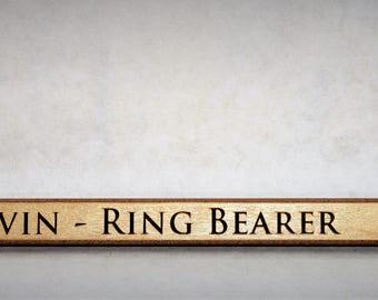 Personalized Mini Hockey Sticks , Ring Bearer Gift, Groomsman Gift, Best Man Gift, Engraved Hockey coaches gift, newborn gift