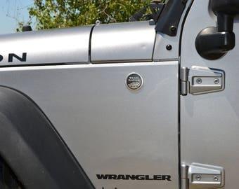 Jeep Wrangler JK Front Fender Flare Short Trees (sold individually)