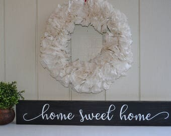 Home Sweet Home Sign, Wood Sign, Wood Home Sign, Housewarming Gift, Wedding Gift, Home Wall Decor, Wood Sign, Collage Wall Sign,Gallery Wall