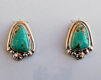 Native American Navajo Turquoise Earrings