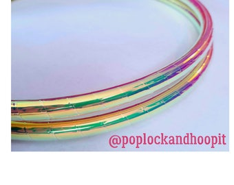 Polypro Hoop or HDPE // Paradise Performance Polypro or HDPE Hula Hoop Hula Hoop or Minis 3/4 or 5/8