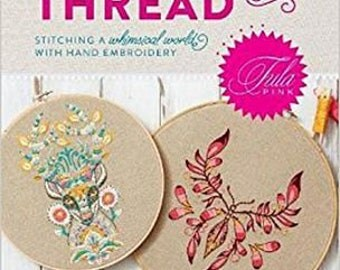 Coloring with Thread by Tula Pink