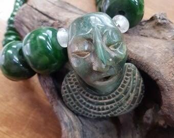 mayan priest in jade