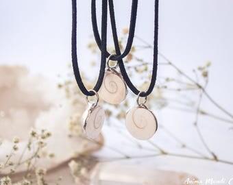 Big Shiva Eye Shell pendant, Festival pendant, Yoga pendant, Spiritual pendant, gift for boyfriend, bassnectar, gift for friend, mermaid