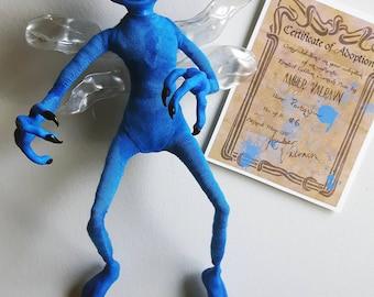 Cornish Pixie Harry Potter Inspired OOAK Poseable Art Doll - Portquin