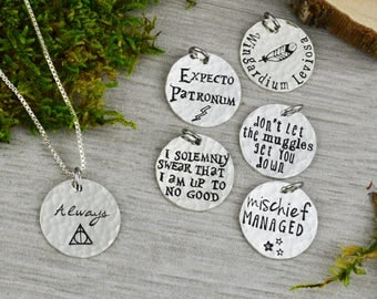 Choose Your Charm Potter Necklace - Fandom Jewelry