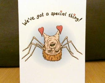 A Special Thing - Horror Valentine Card