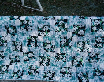 Baby Quilt Panda pattern