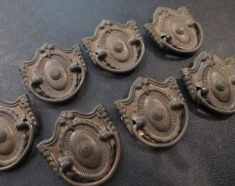 Antique Victorian Salvage Hardware Drawer Pulls Drawer Handles Furniture Hardware Set of 4 DIY
