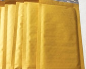 15 Padded Mailer Envelopes, 5x9mm Mailers, 4X7 opening, Jewelry Mailers, Craft supplies, Jewelry supplies