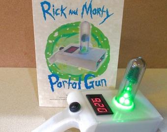 Portal Projector Gun - RICK and MORTY