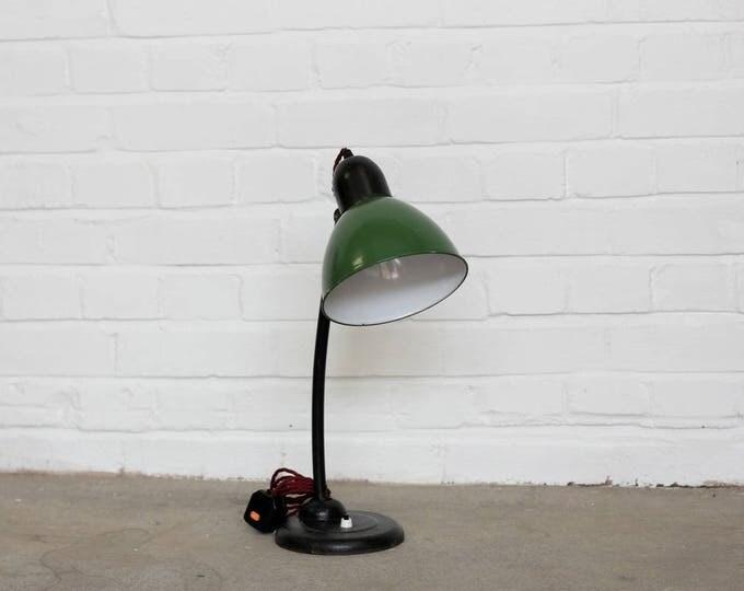 Hungarian Industrial Desk Lamp Circa 1930s