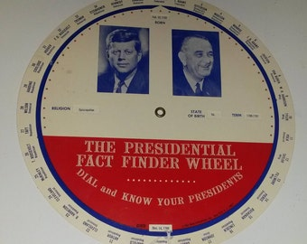 The Presidential Fact Finder Wheel