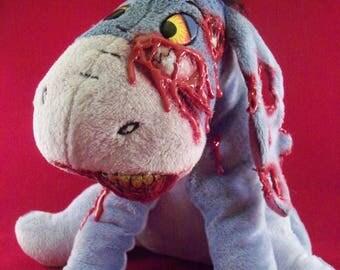 Scary Plush Zombie Doll
