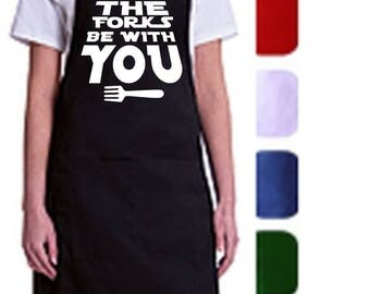 May the forks be with you - Apron