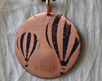Hot Air Balloon Pendant Lasts