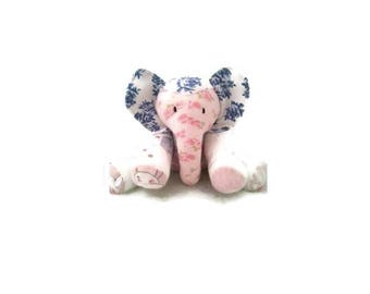 Keepsake Elephant, Memory Elephant, Elephant made from Clothes, Memorial Elephant, Baby Elephant, Clothing Elephant, Memory Bear