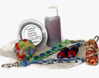 Calm Down Kit, Calming Kit, Fidget Kit, Anxiety Kit, Stress Relief, Fidget Toys, Sensory Fidget, Fidget Set, Calming Sensory Toys, Stim Toys