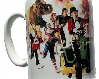 1983 John Deere Stein Beer Mug Tankard Ceramic