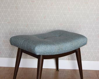 Merridew / Footstool / Bedroom Stool /1960s /1970s Mid Century Design