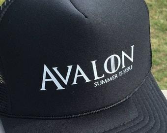 Avalon NJ Game of Thrones Trucker Hat