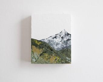 Mountain Landscape - Original Acrylic Painting by Britt Fabello