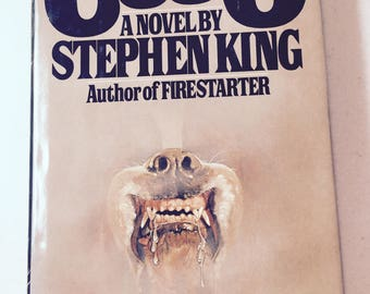 Summer Reading Stephen King Cujo 1981 Thriller  Book Horror Story