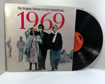 1969 Soundtrack vinyl record 1988 Various VG+ Jimi Hendrix, Animals, Cream, Zombies, Blind Faith
