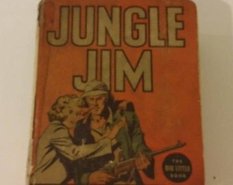 Big Little Book Jungle Jim and Vampire Woman Whitman Publishing, 1937