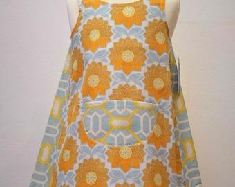Summer Retrodress for little girls in pastell colors