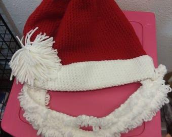 Santa Hat and Beard