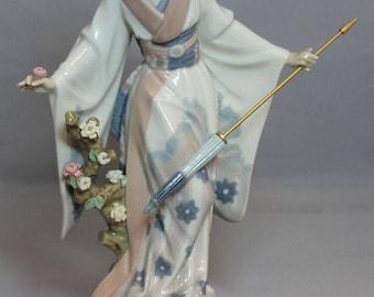 """Japanese Lady with parasol """"Teruko"""""""