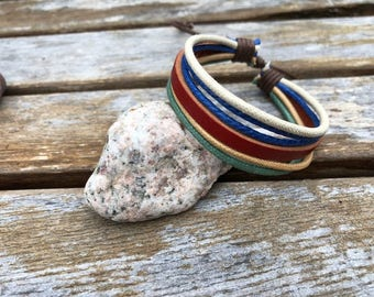 Women's Leather Bracelet Gift For Her Womens Bracelet Girlfriend Gift Mothers Day Gift Adjustable Bracelet JLA-5
