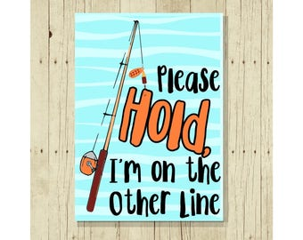Gift for Fisherman, Funny Magnet, Fishing Magnet, Fish Pun, Fishing Gift, Punny, Cute Fridge Magnet, Cute Magnets, Gifts Under 10