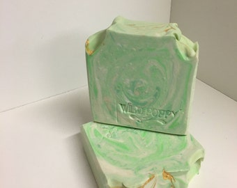 Lime and Vetyver Soap / Artisan Soap / Handmade Soap / Soap / Cold Process Soap