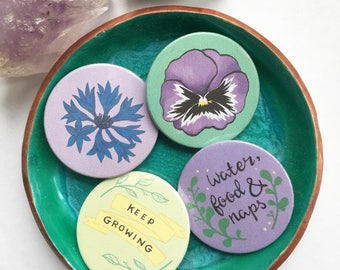 Keep growing flower badges
